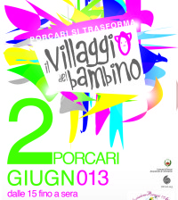 Il villaggio del bambino manifesto