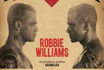 ROBBIE WILLIAMS torna al Lucca Summer Festival!