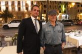 Terence Hill in Versilia ospite all'hotel Esplanade